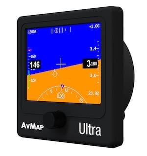 AvMap to preview new Ultra EFIS at AirVenture