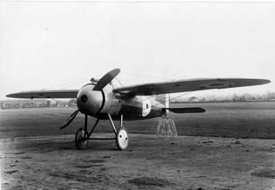 A Bristol monoplane fighter of this type was used by Chilean pilot Lt. Dagoberto Godoy to cross the Andes in 1918.