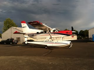 Mission Aviation Fellowship and Aerocet put new KODIAK floats to the test