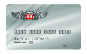 Phillips 66 Aviation Personal Card - straight on