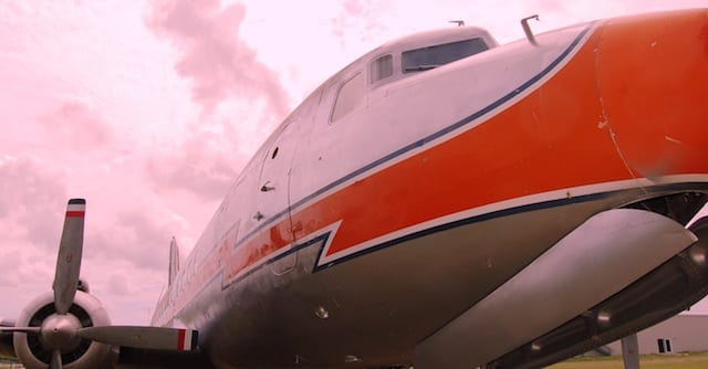 Skies are cloudy for the DC-7 Grille. Will it see a sunrise?