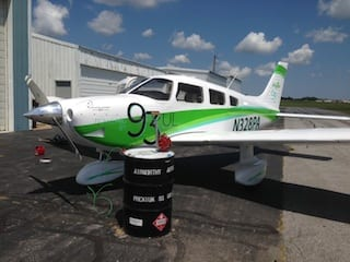 Piper fueled by autogas completes cross-country roundtrip