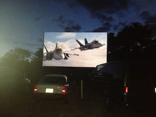 Planes at the Drive-In