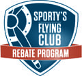 Sporty's launches Flying Club Rebate Program