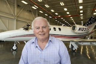#NBAA13: Best-selling author first M2 customer