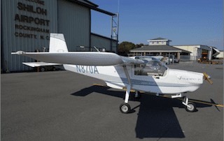 Opus Aircraft to be sold at auction