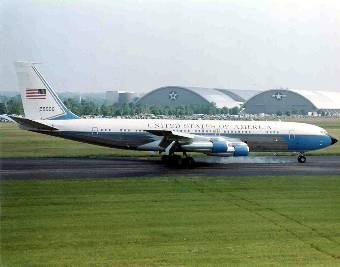 Visit Kennedy's historic Air Force One at Air Force museum