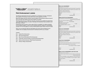 ASA offers free download of Endorsement Labels
