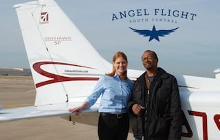 Angel Flight gives cancer patient altitude