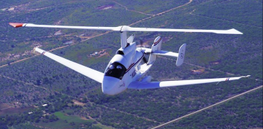 Carter Personal Air Vehicle showcased at AirVenture