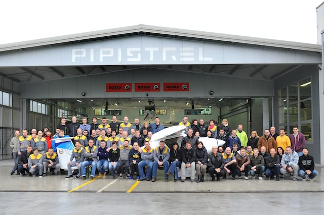 Pipistrel delivers 600th aircraft in Sinus/Virus family