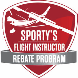 Sporty's launches Flight Instructor Rebate Program