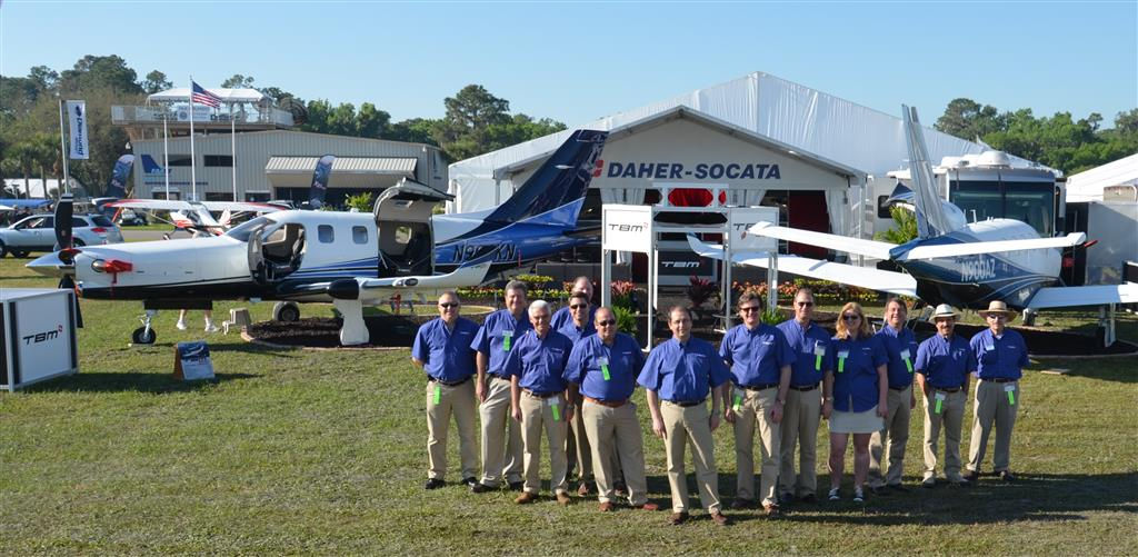 2014_DAHER-SOCATA Team at S'N'FUN (Large)