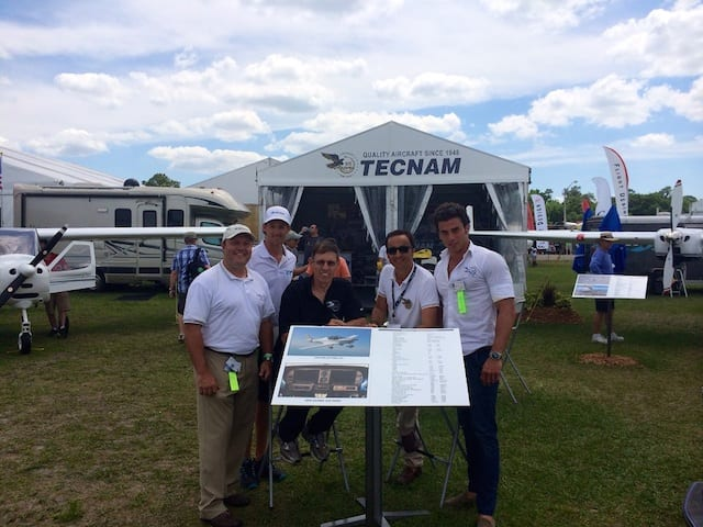 Tecnam reports success at SUN 'n FUN