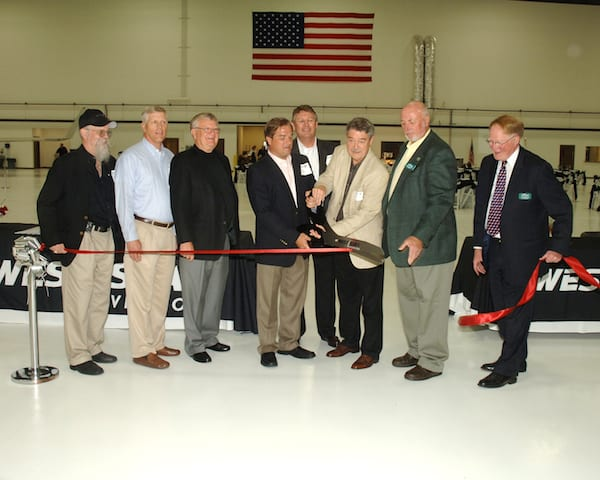 West Star Aviation opens new maintenance facility at ALN