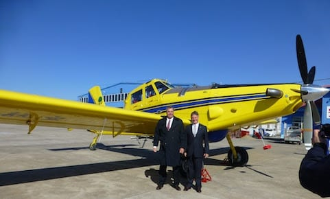 Air Tractor delivers aircraft to China