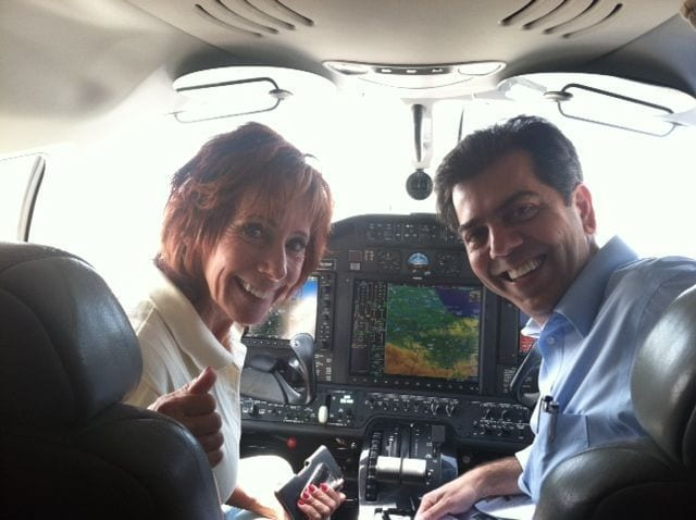 Citation Mustang Cockpit with Capt Judy and Edwin