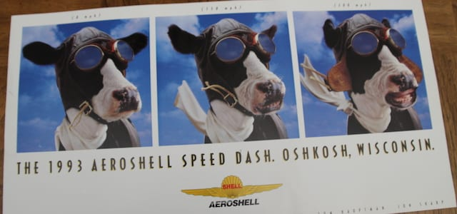 The story behind Aeroshell's iconic cow poster