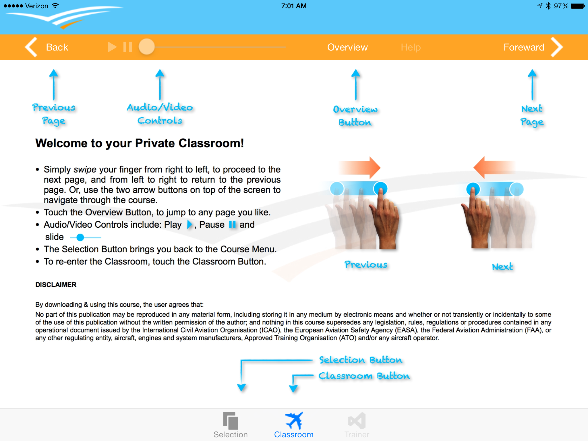 King Schools releases EASA pilot courses on the iPad