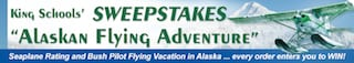 King Schools launches Alaskan Aviation Adventure Sweepstakes