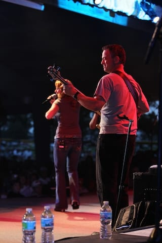 Gary Sinise's Lt. Dan Band plays every year at OSH