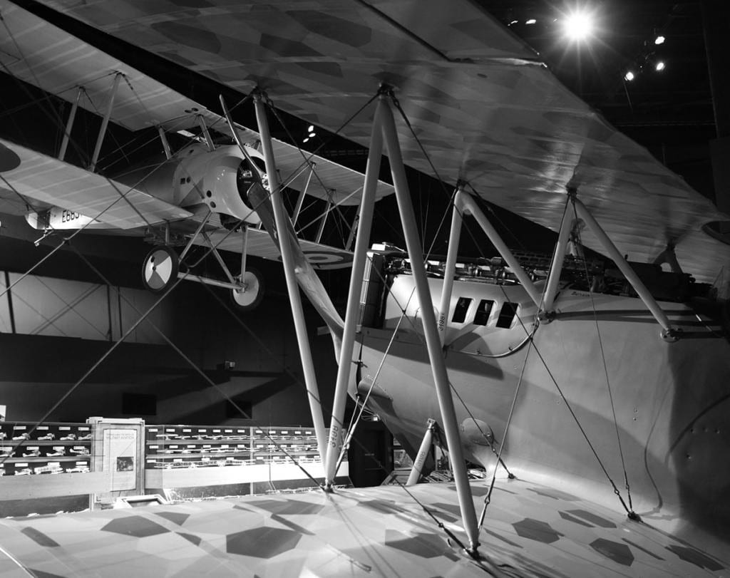 Photo: World War I Pfalz D.XII (foreground) and Sopwith Snipe on display at The Museum of Flight. Ted Huetter/The Museum of Flight, Seattle.