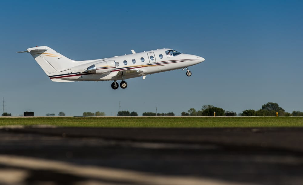 Garmin G5000 completes first flight on Beechjet 400A