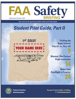 Latest issue of FAA Safety Briefing online