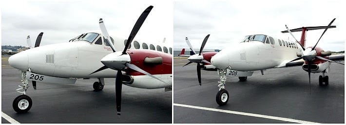 Raisbeck begins certification testing for King Air composite propellers