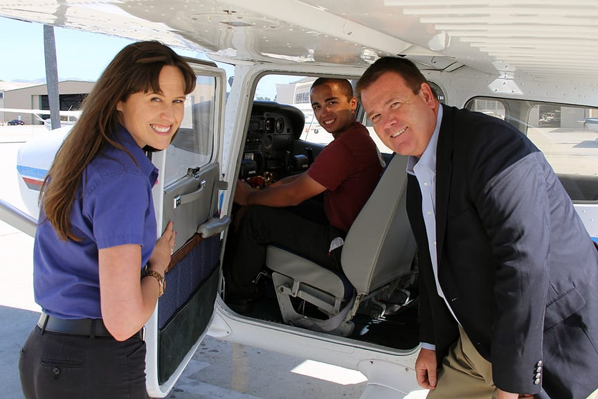 Channel Islands Aviation partners with SBBCollege to offer new aviation program