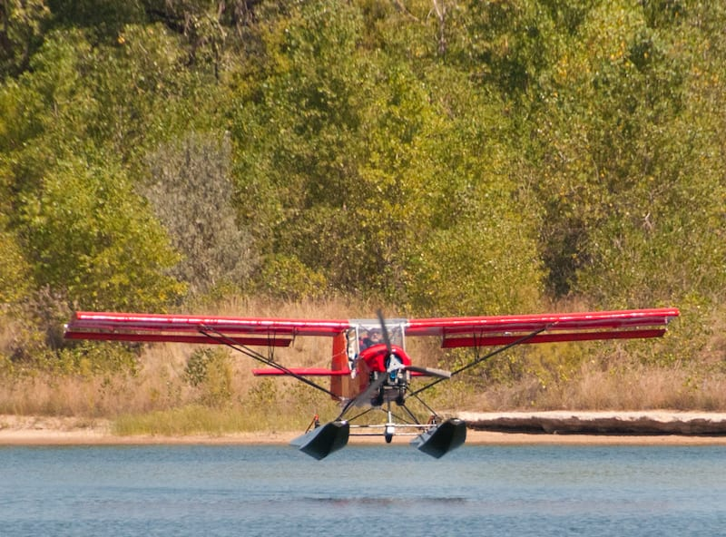 First flight from the water for Belite's Sealite.