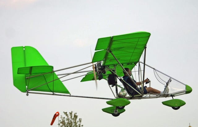 Backyard Flyer Ultralight two airplanes (almost) anyone can afford