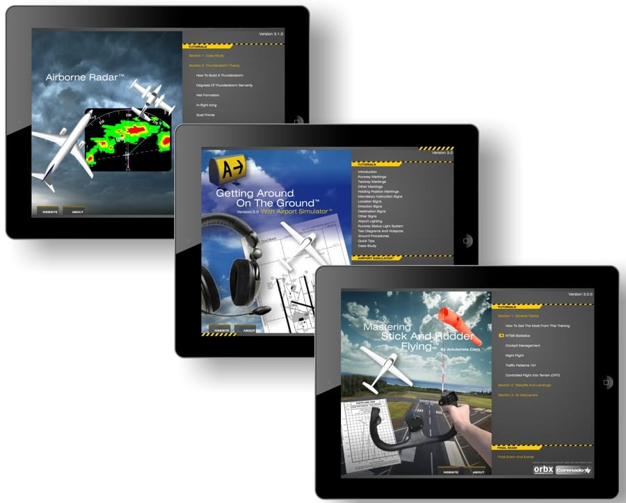 Avtutorials produces iPad apps for Sporty's focusing on critical pilot skills