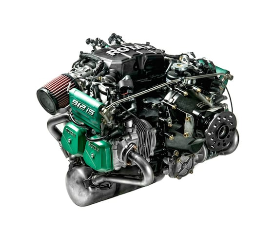 Rotax 912iS engine
