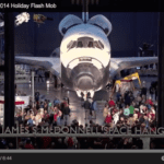Video: Flash mob performs at Air & Space Museum