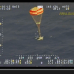 Video: Cirrus ditches under chute in Pacific Ocean