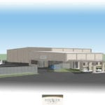 Voyager Jet Center Architectural Rendering of New Hangar