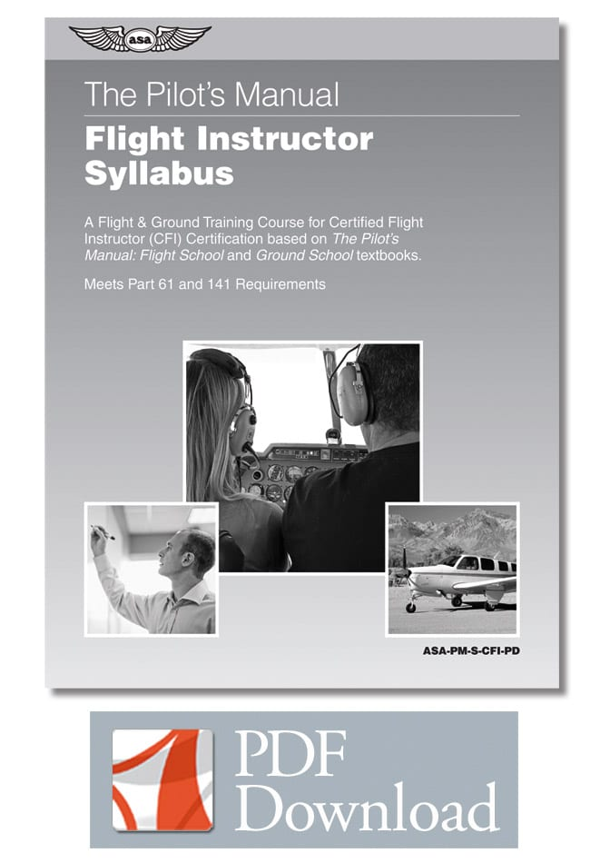 Free Syllabi Available For Cfi Ratings
