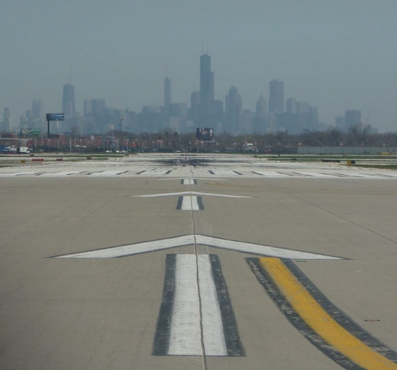 Pure Adventure - Chicago from the Runway