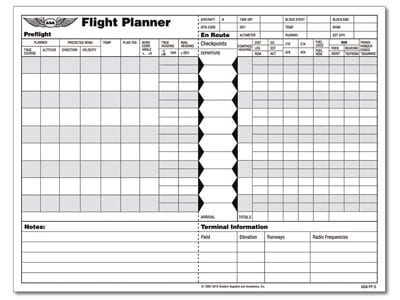 Planner Pad Pdf Flight Planner Pad Introduced