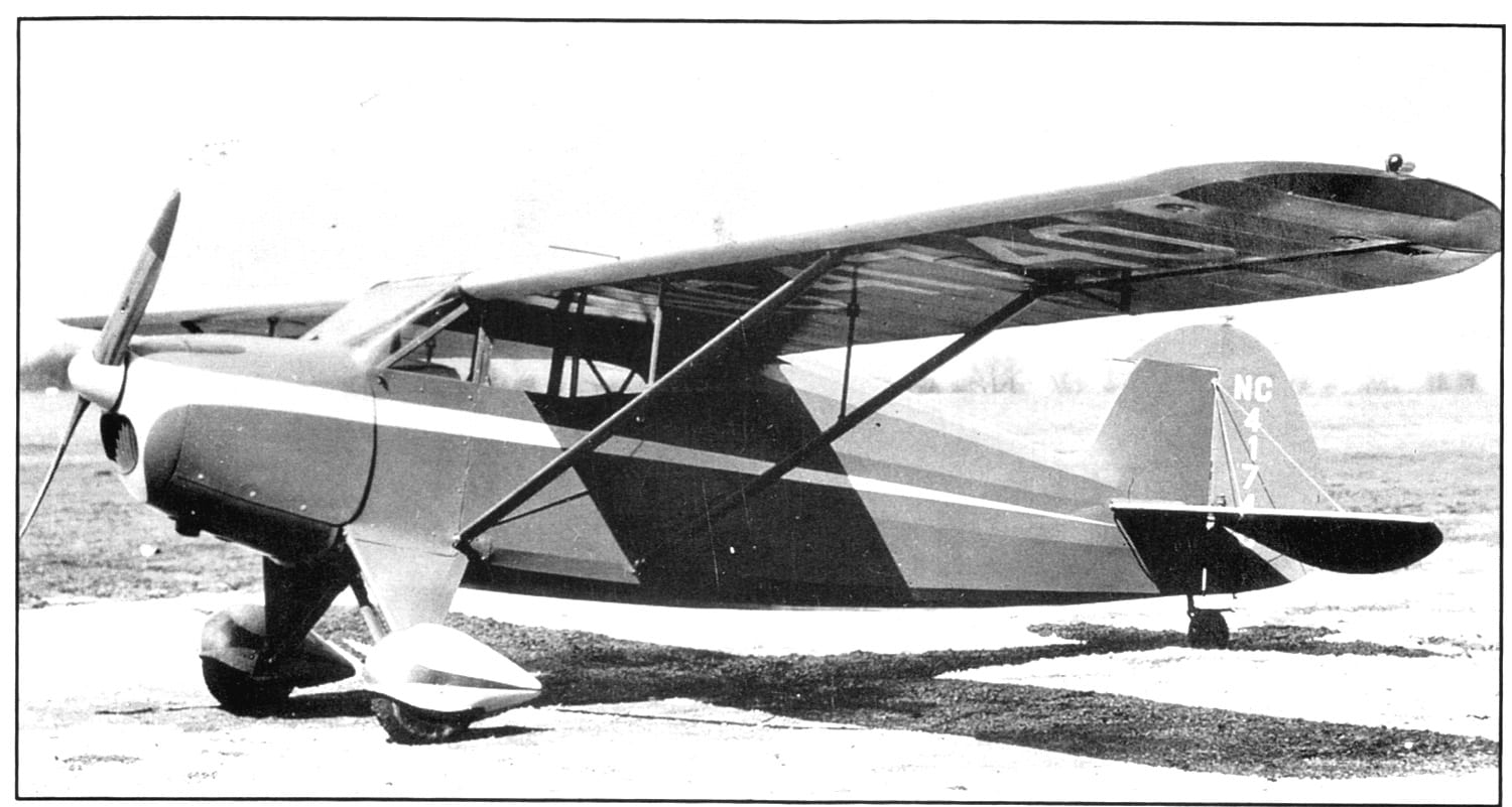 Image 3 : Funk Model  B Caption: The Funk Model B certified in 1939 was the last of the Ford powered production aircraft to be produced and the most popular. Source: Dennis Parks