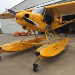 Legend Cub gets carbon fiber amphib floats