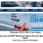 GlobalAir.com launches Oshkosh Specials page