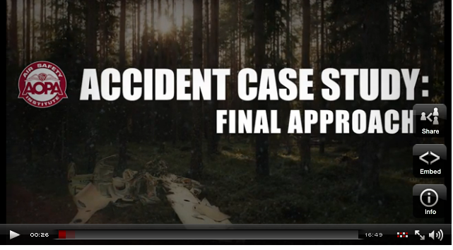 accident case study aopa