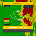 Garmin Pilot adds obstacles and terrain for Android