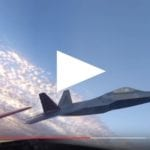 Video: P-51, F-22 Heritage Flight with 360°view