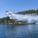 Picture of the day: Seaplane spray