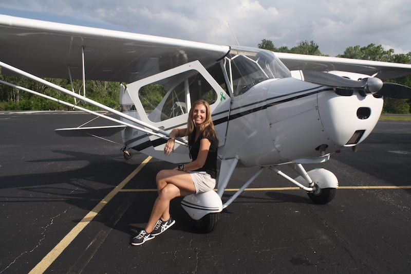 Today, with Daisy, a 1958 Aeronca Champ