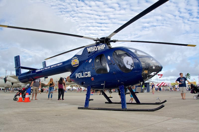 1994 McDonnell Douglas helicopter