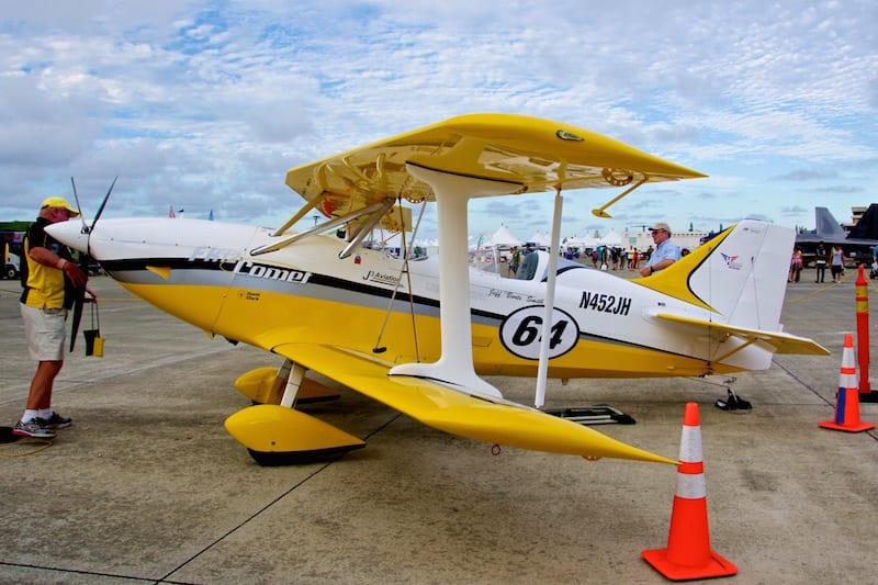 This German FK-12 Comet is the only Light Sport Biplane currently in serial production and is designed for aerobatics.